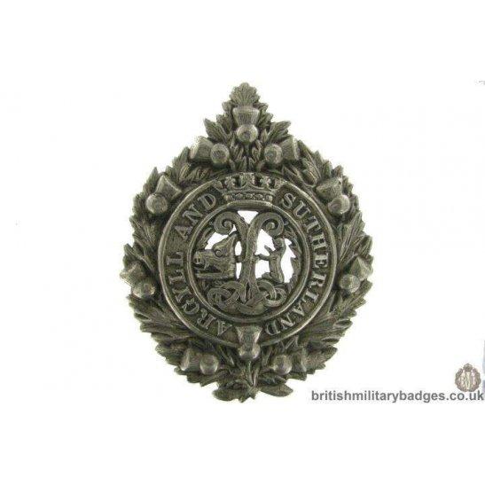 Argyll & Sutherland Highlanders Regiment Cap Badge