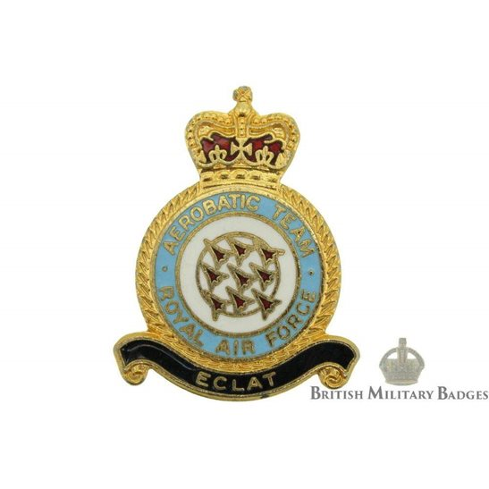 Aerobatic Team Royal Air Force Lapel Badge RAF