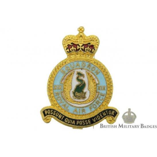 19 XIX Squadron Royal Air Force Lapel Badge RAF