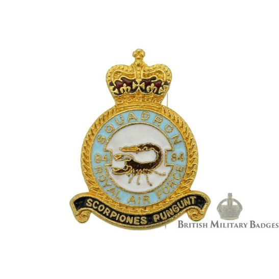 84 Squadron Royal Air Force Lapel Badge RAF