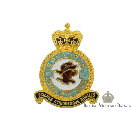 11 Squadron Royal Air Force Lapel Badge RAF