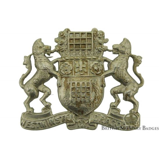 Westminster Dragoons Territorial Yeomanry Regiment Cap Badge