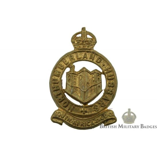 Northumberland Hussars Regiment Collar Badge