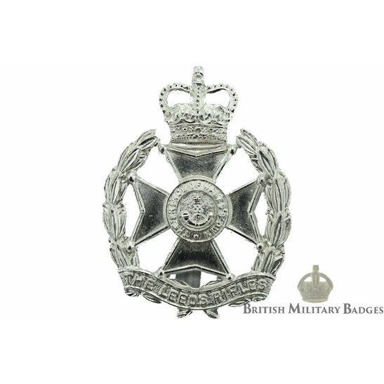 The Leeds Rifles Regiment Staybrite Cap Badge