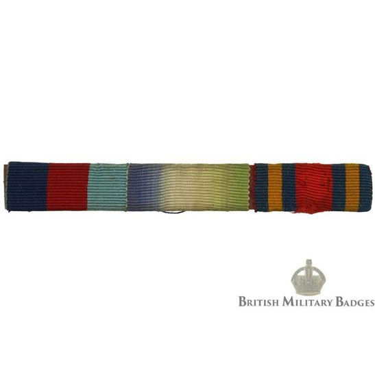 WW2 Medal Ribbon Bar - 1939-45, Atlantic & Burma Campaign Star - SEW ON