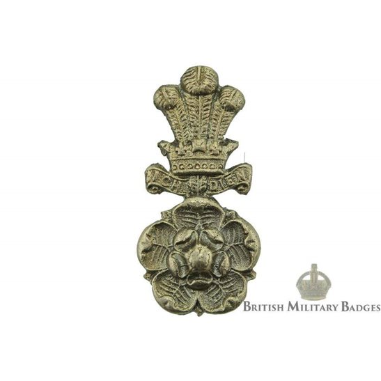 Yorkshire Hussars Regiment Collar Badge