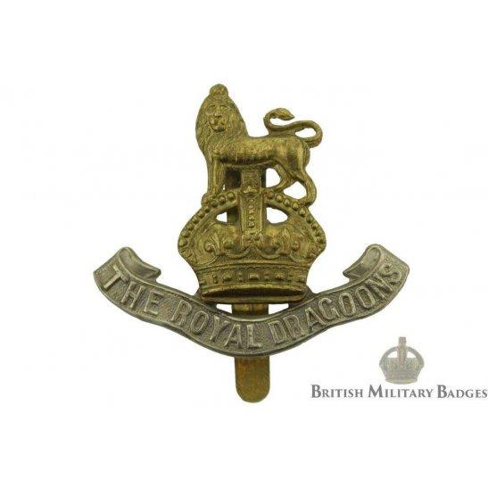 1st The Royal Dragoons Regiment Cap Badge - NG&S MAKERS MARK