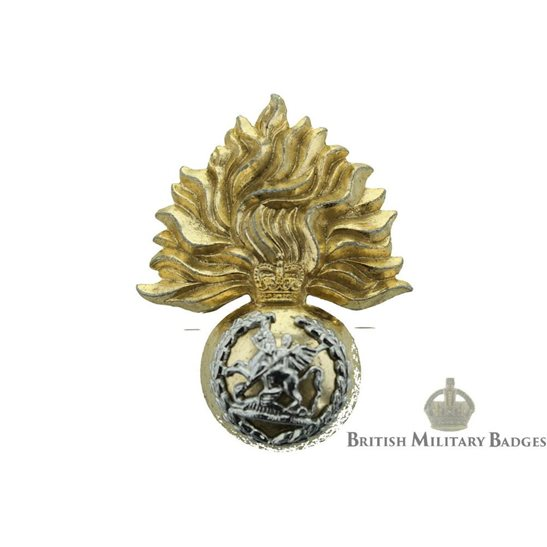 Northumberland Fusiliers Regiment Staybrite Cap Badge