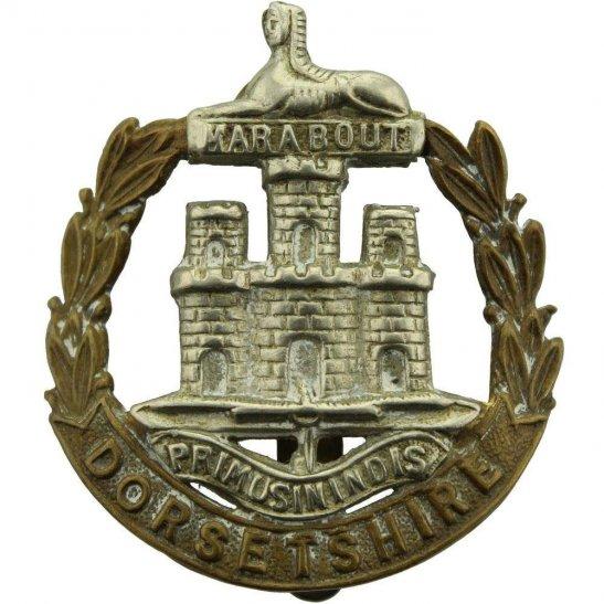Dorset Regiment WW1 Dorsetshire (Dorset) Regiment Cap Badge