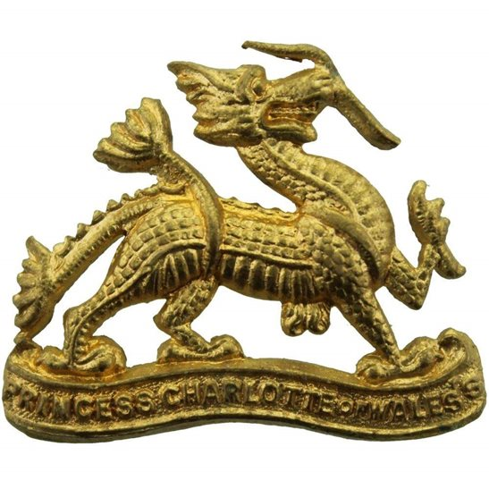 Berkshire Regiment Royal Berkshire Regiment Collar Badge