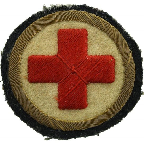 Royal Army Medical Corps RAMC WW1 Royal Army Medical Corps RAMC Senior NCOs Arm / Sleeve Insignia Badge