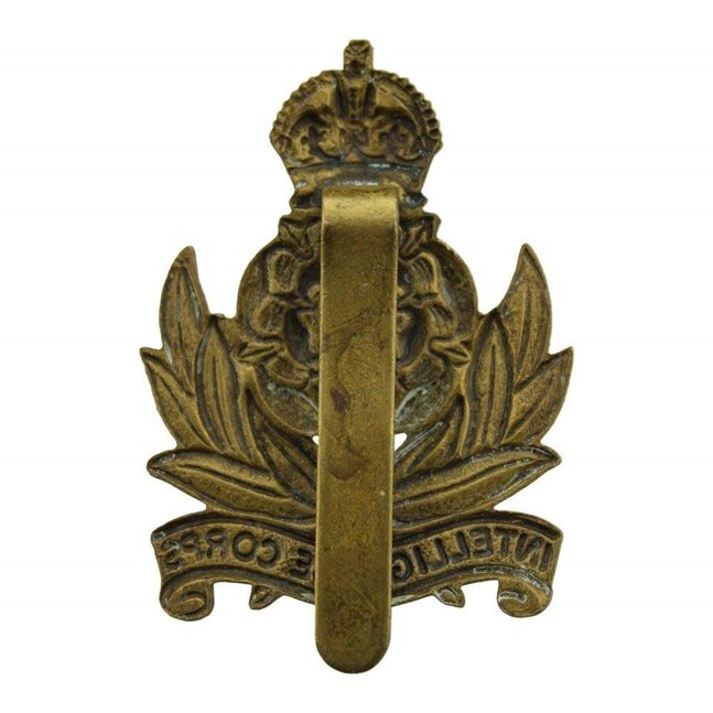 WW2 Intelligence Corps Cap Badge