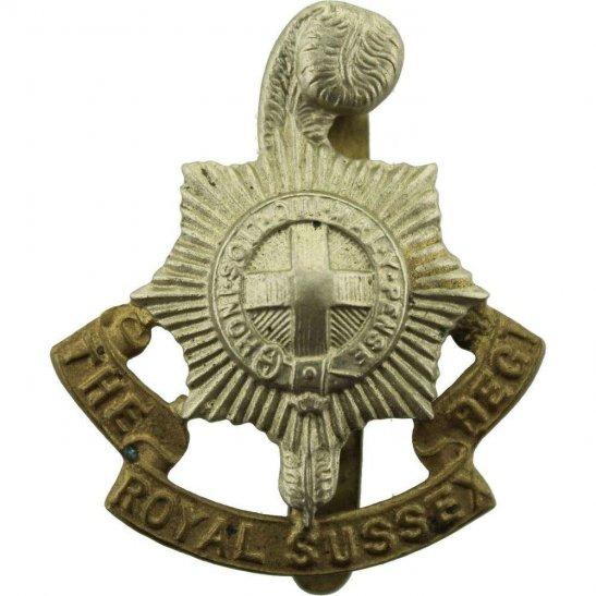 Royal Sussex WW2 Royal Sussex Regiment Cap Badge