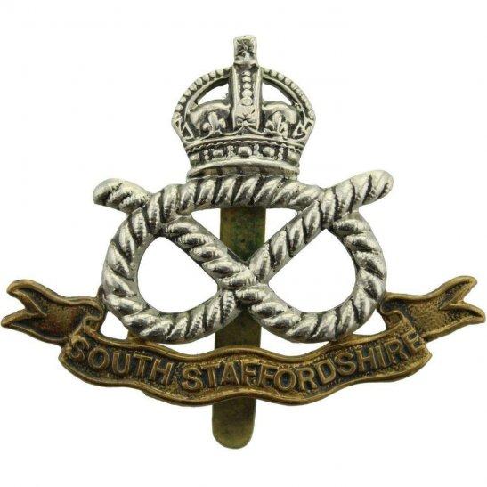 South Staffordshire WW1 South Staffordshire Regiment Cap Badge