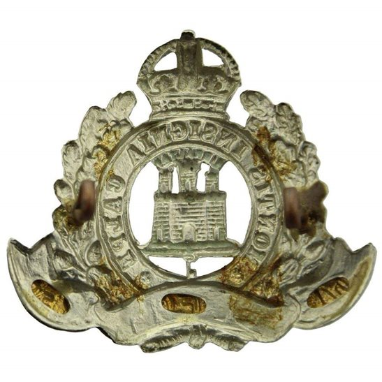 additional image for Suffolk Regiment Cap Badge - EARLY LUGS VERSION