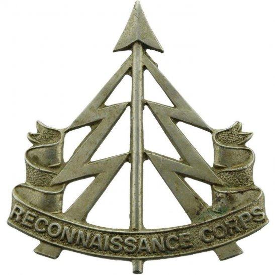 Reconnaissance Corps WW2 Reconnaissance Corps WHITE METAL Cap Badge