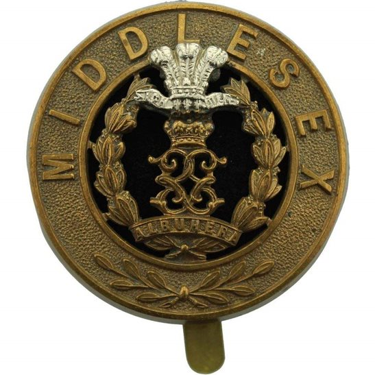 Middlesex Regiment Middlesex Regiment PAGRI Cap Badge
