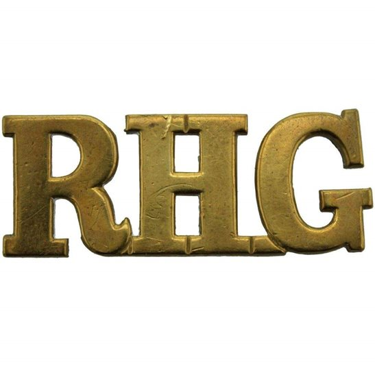 Royal Horse Guards RHG Royal Horse Guards RHG Regiment Shoulder Title