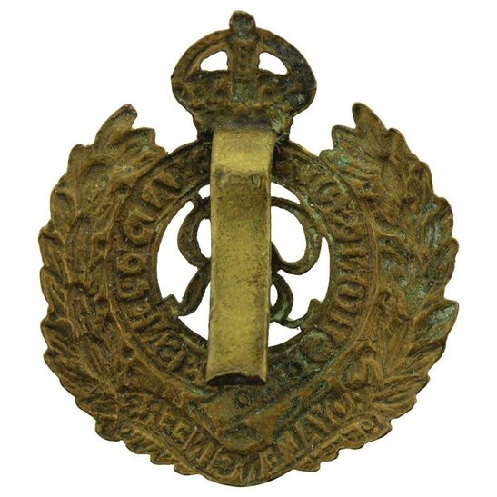 additional image for WW2 Royal Engineers Corps (George VI) Cap Badge