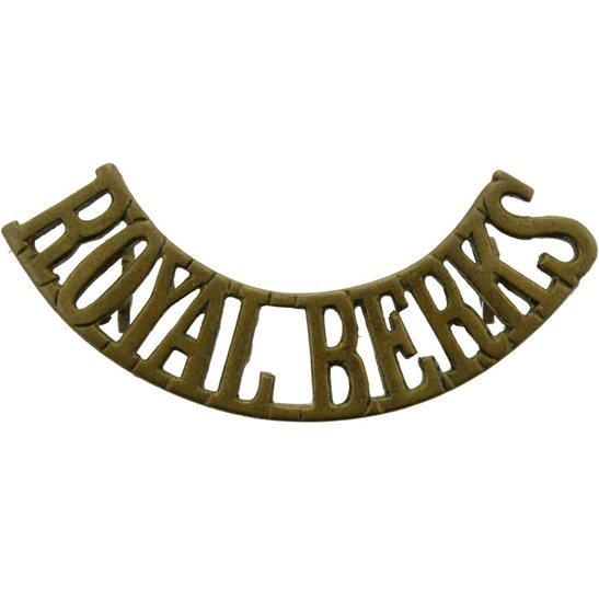 Royal Berkshire WW1 Royal Berkshire Regiment Shoulder Title