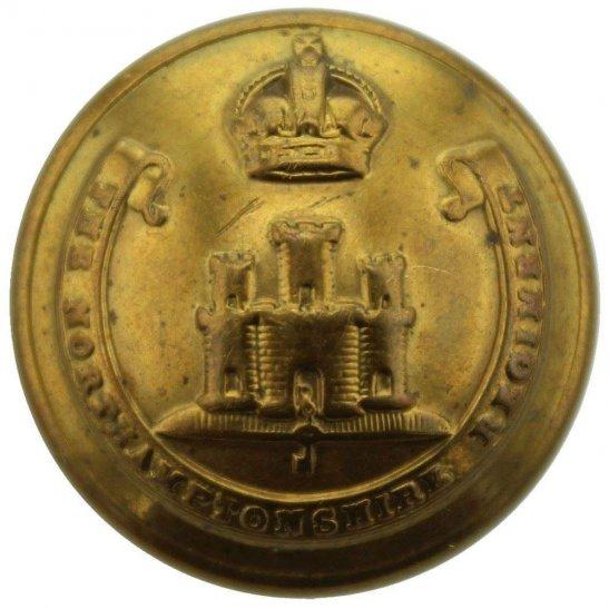 Northamptonshire Regiment WW1 Northamptonshire Regiment Northampton Tunic Button - 26mm