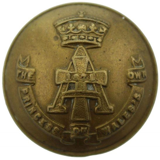 Yorkshire (Green Howards) Green Howards (Yorkshire) Regiment Tunic Button - 26mm