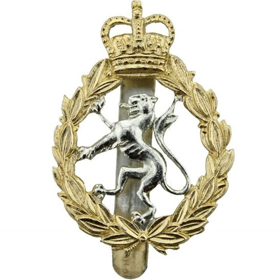 Womens Royal Army Corps WRAC Womens Royal Army Corps WRAC Staybrite Anodised Cap Badge - Staybright