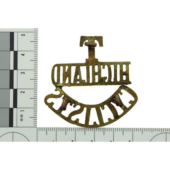 additional image for WW1 Territorial Battalion Army Highland Cyclists Corps Shoulder Title
