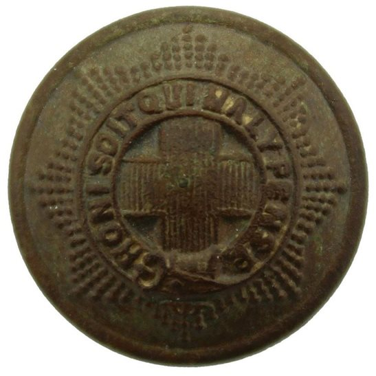 Coldstream Guards WW1 Coldstream Guards Regiment SMALL Tunic Button - 19mm