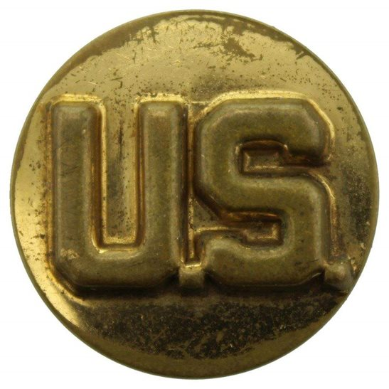 WW2 US Army WW2 United States US Army American Infantry Collar Badge