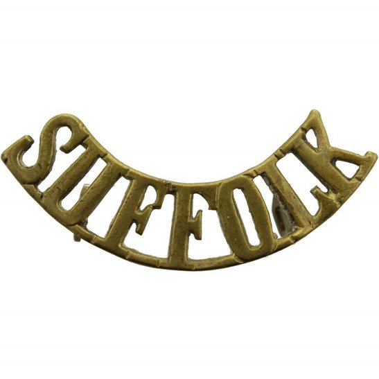 Suffolk Regiment WW2 Suffolk Regiment Shoulder Title