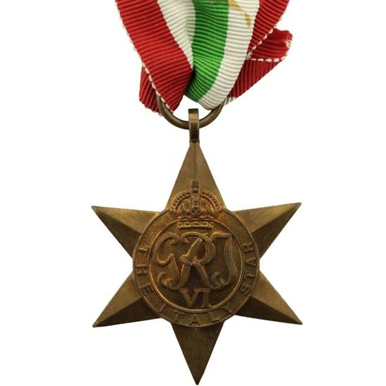 WW2 Italy Star Campaign Medal - FULL SIZE