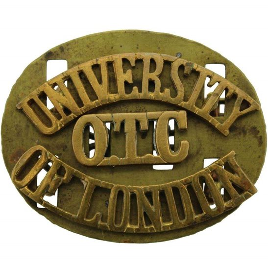 Officer Training Corps OTC University of London OTC Officers Training Corps CCF Shoulder Title