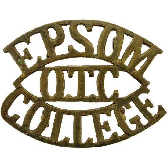 Officer Training Corps OTC Epsom College OTC Officers Training Corps CCF Shoulder Title