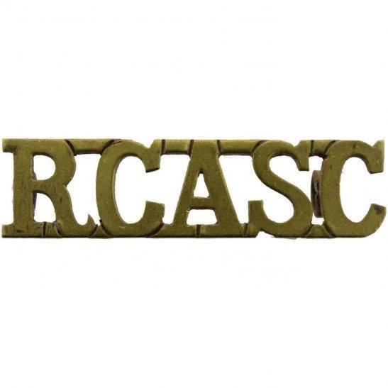 WW2 Canadian Army WW2 Royal Canadian Army Service Corps RCASC Canada Shoulder Title