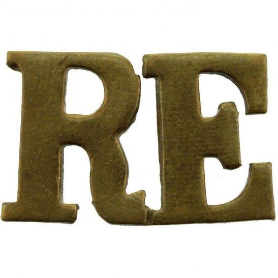 Royal Engineers WW2 Royal Engineers Corps Shoulder Title