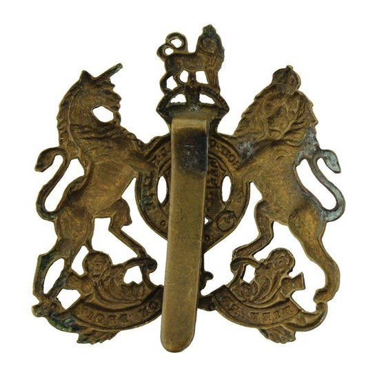 additional image for WW1 General Service Corps / Regiment Cap Badge