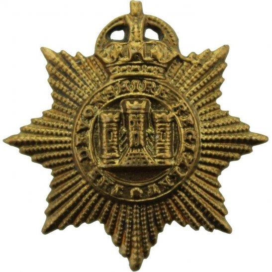 Devonshire Regiment Devonshire Regiment Collar Badge