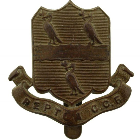 Officer Training Corps OTC Repton College CCF Officers Training Corps OTC Cap Badge