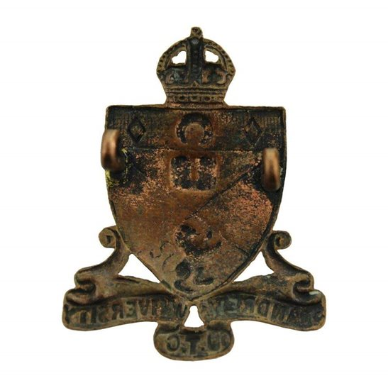additional image for St Andrews University College Officers Training Corps OTC Cap Badge
