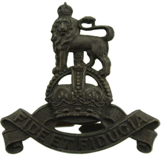 Royal Army Pay Corps RAPC WW2 Royal Army Pay Corps RAPC OFFICERS Bronze Cap Badge