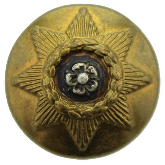 East Yorkshire WW1 East Yorkshire Regiment SMALL Tunic Button - 19mm