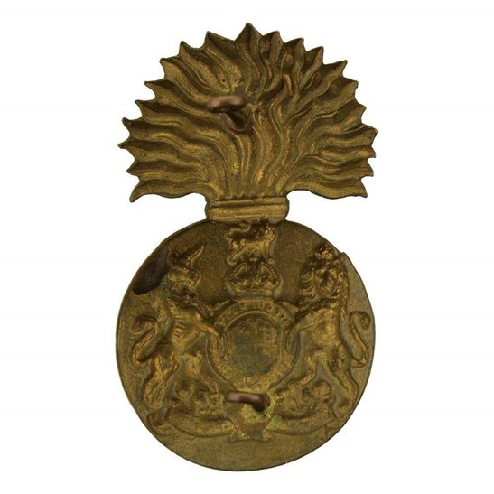 additional image for WW1 Royal Scots Fusiliers (Scottish) Regiment Cap Badge