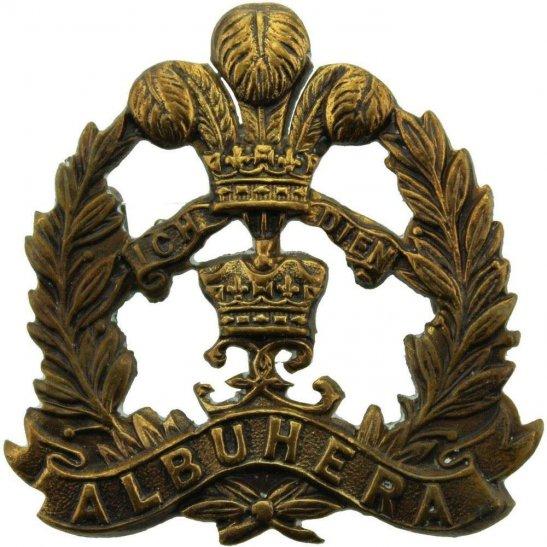 Middlesex Regiment WW1 Middlesex Regiment OFFICERS Bronze Officer's Collar Badge