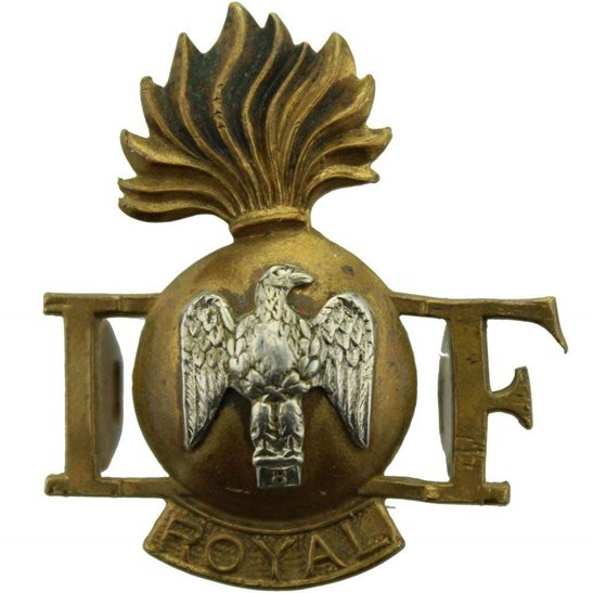 Royal Irish Fusiliers Royal Irish Fusiliers Regiment RIF Shoulder Title
