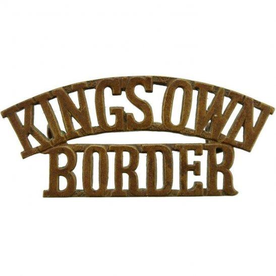 Kings Own Royal Border Regiment King's Shoulder Title