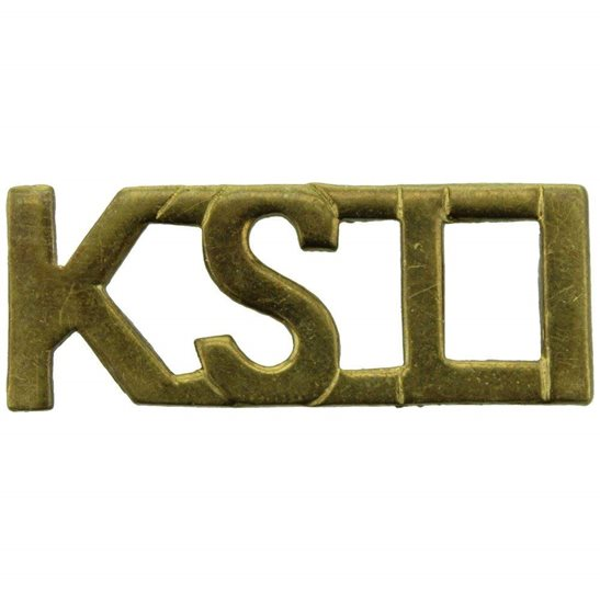 Kings Shropshire Light Infantry KSLI WW1 Kings Shropshire Light Infantry KSLI Regiment King's Shoulder Title