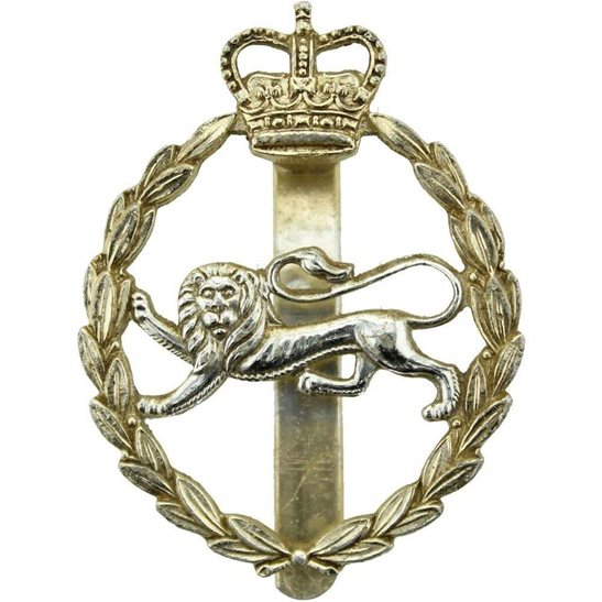 Kings Own Royal Border Regiment King's Staybrite Anodised Cap Badge - Staybright