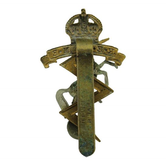 additional image for WW2 Royal Electrical & Mechanical Engineers REME Cap Badge - BUTTONS LD B'HAM