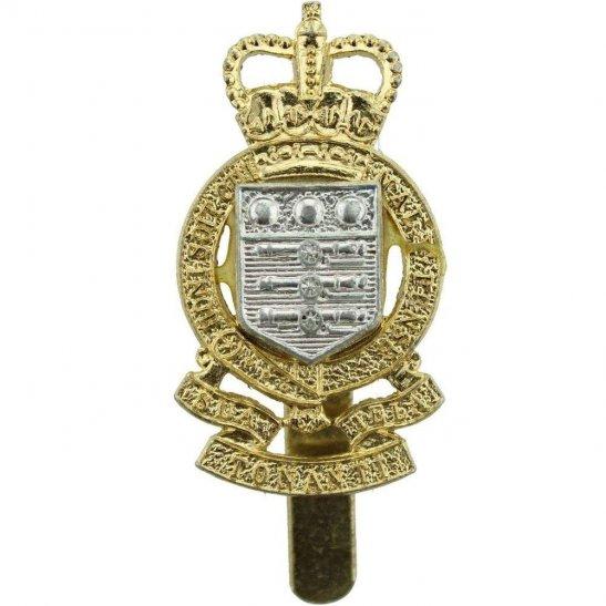 Royal Army Ordnance Corps RAOC Royal Army Ordnance Corps RAOC Staybrite Anodised Cap Badge - Staybright